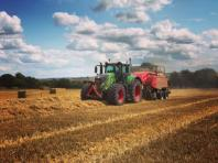 Tractor and baler 3
