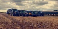 tractors and loader